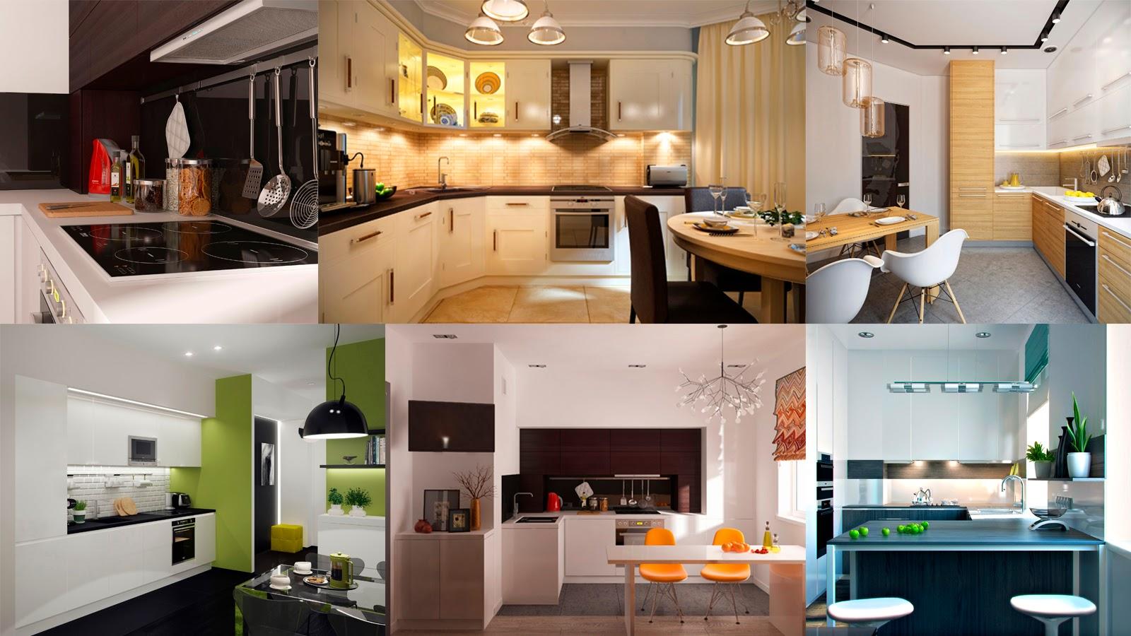 10 Золотых правил организации кухонного гарнитура