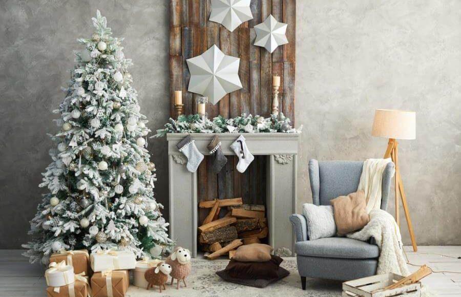 Идеи для новогоднего украшения ваших интерьеров