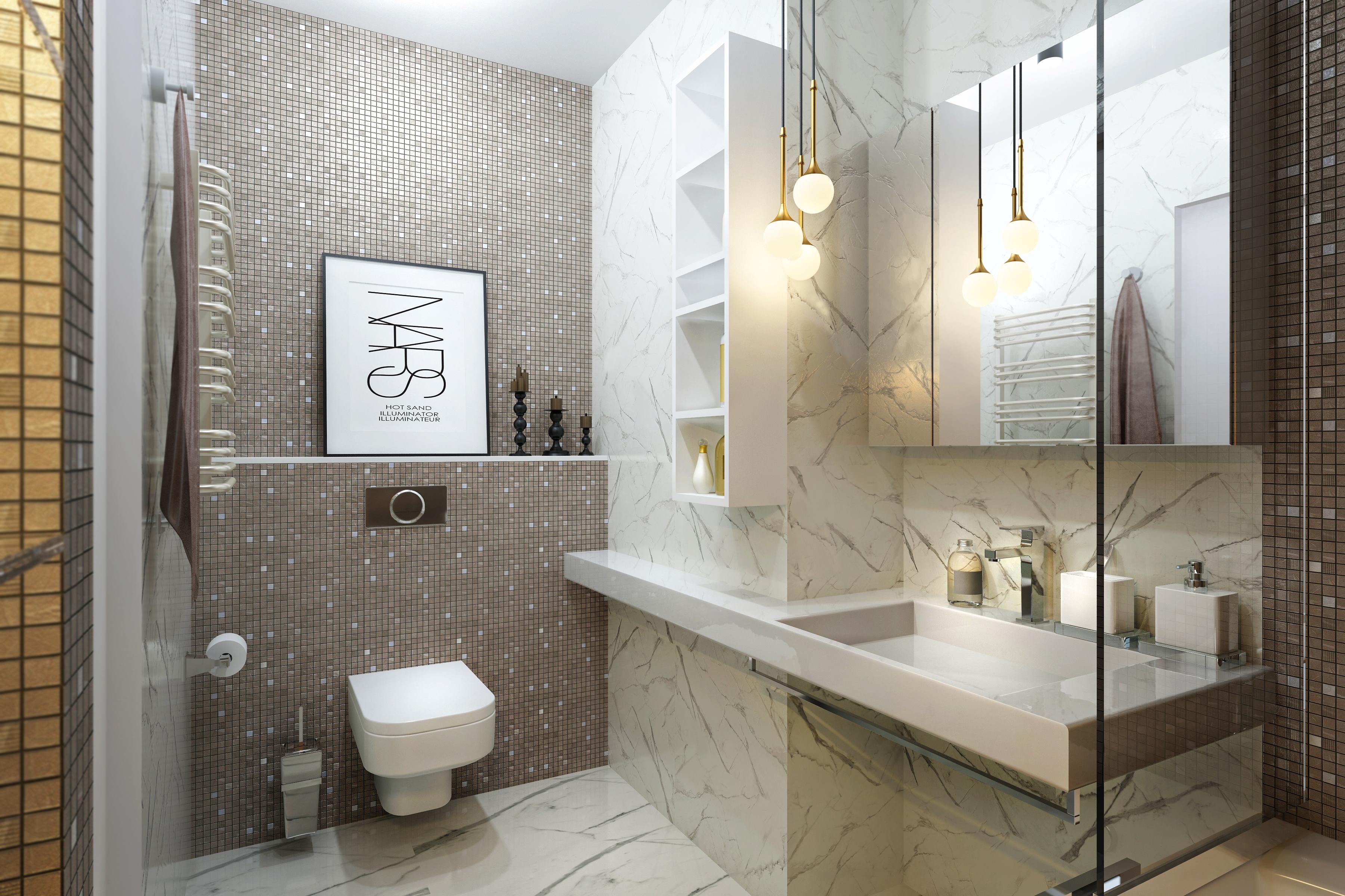 Лайфхаки для дизайна интерьера ванной комнаты