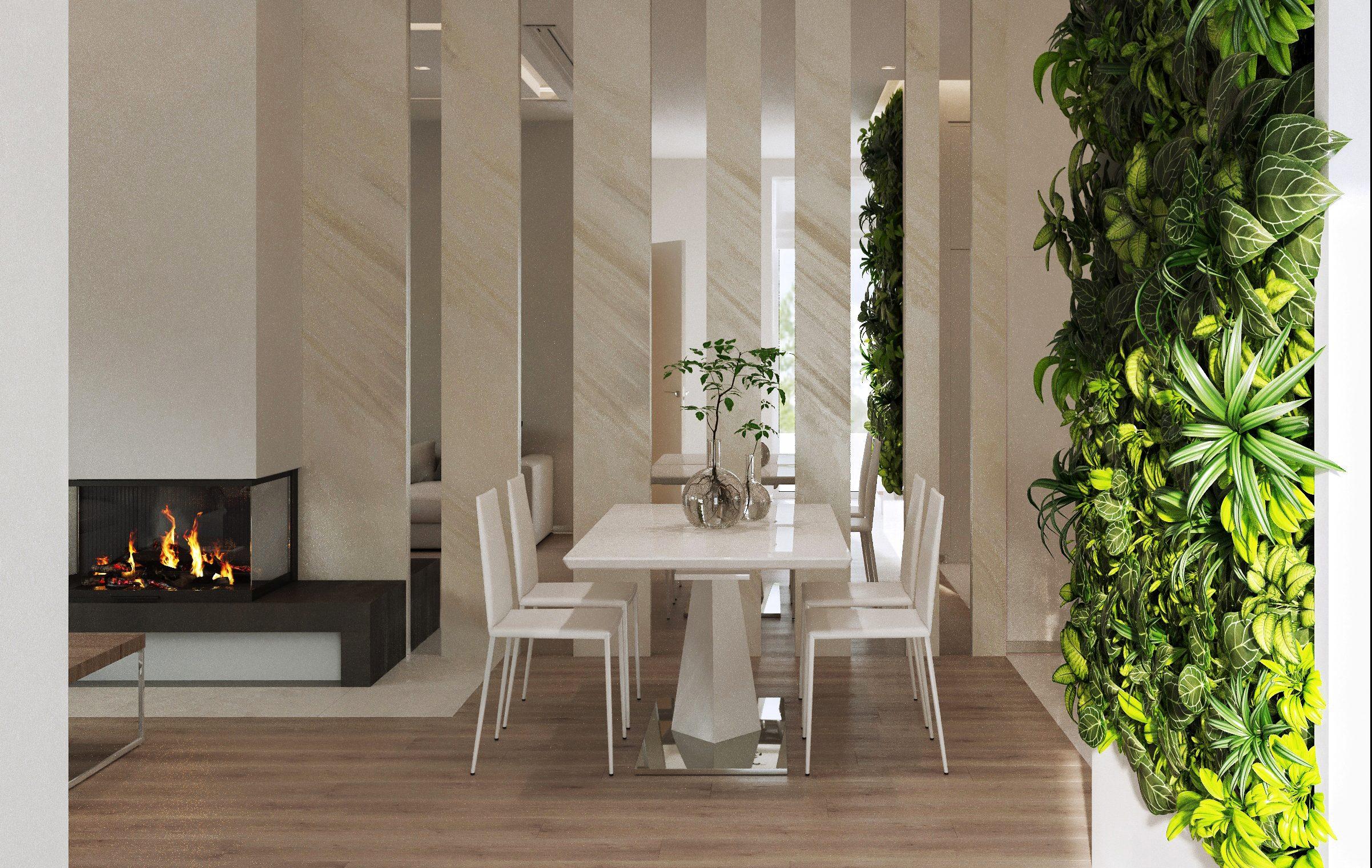 Дизайн интерьера таунхауса. Заповедный парк