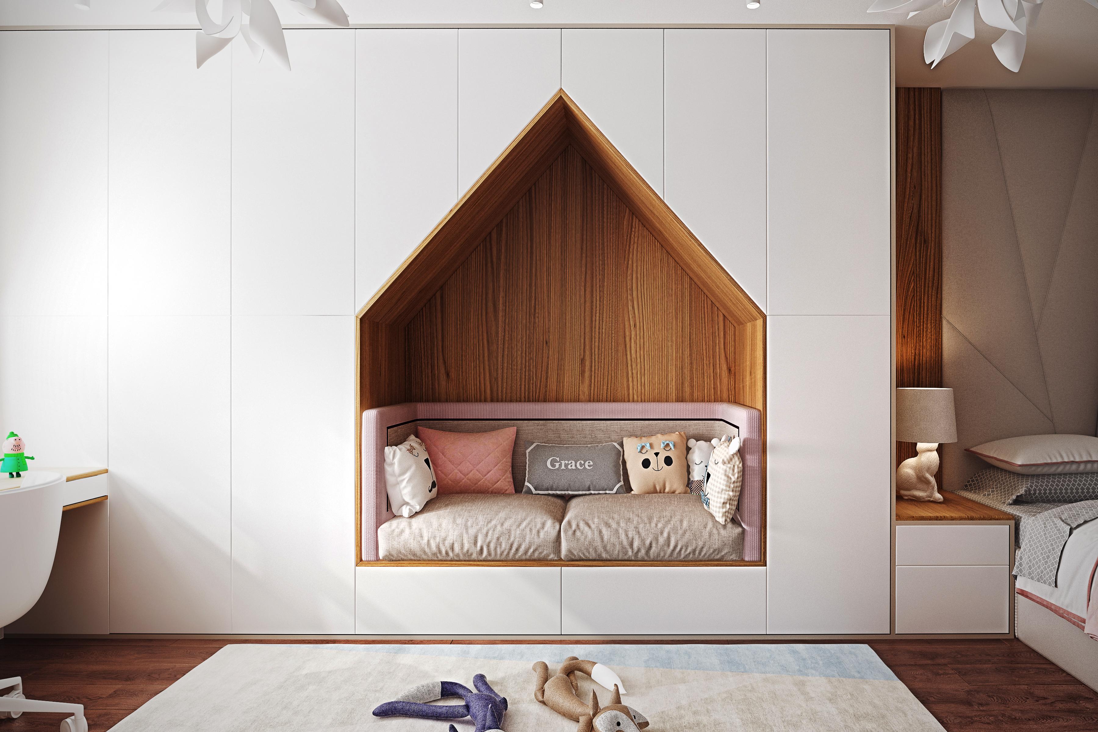 Дизайн квартиры ЖК Путилково — детская