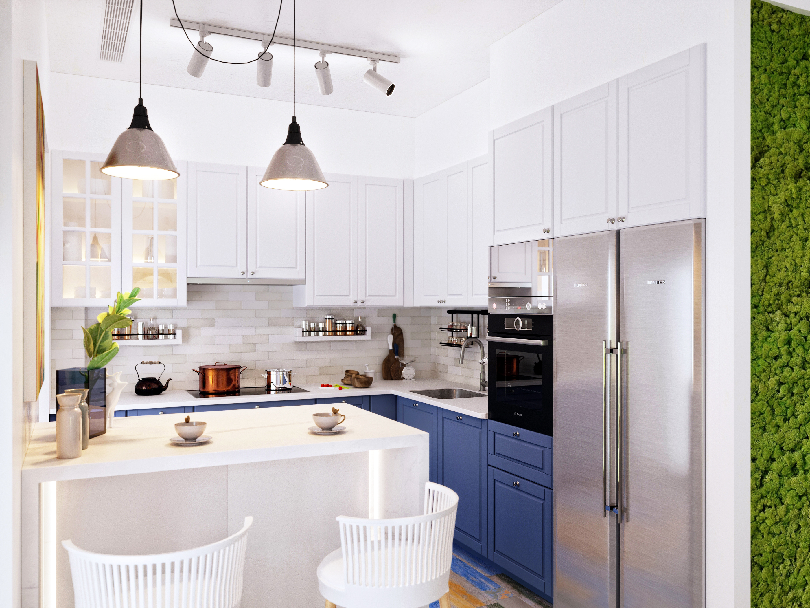 Кухонный фартук. Как правильно подобрать цвет?