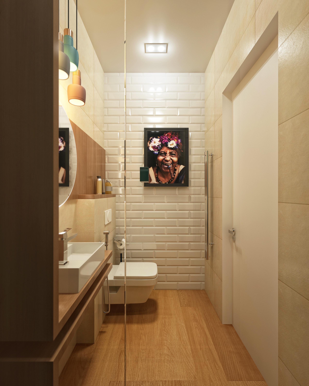 Дизайн ванной комнаты в доме 250 м2