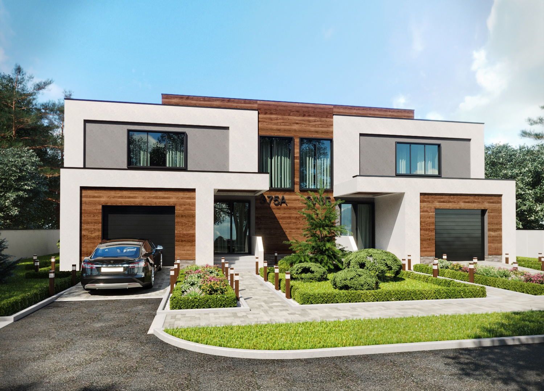 Проект 2-х этажного дома