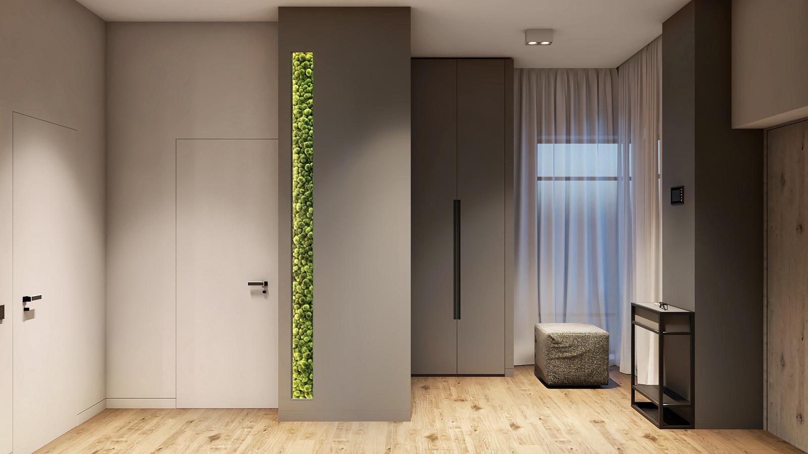 Дом в современном стиле в Подмосковье.