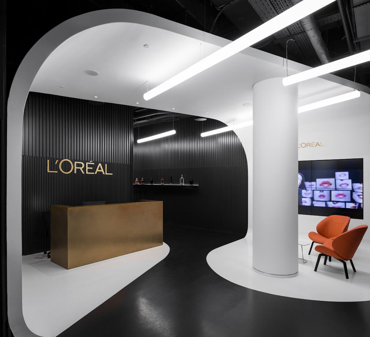 Новый Офис L'Oréal в Москве