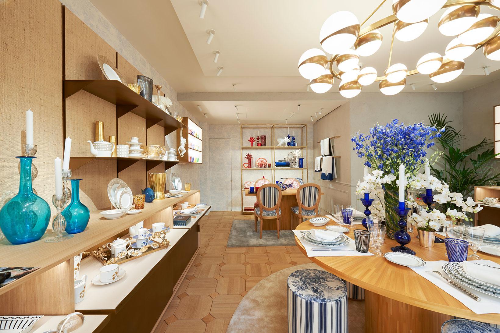 В Париже открылся бутик Dior Maison