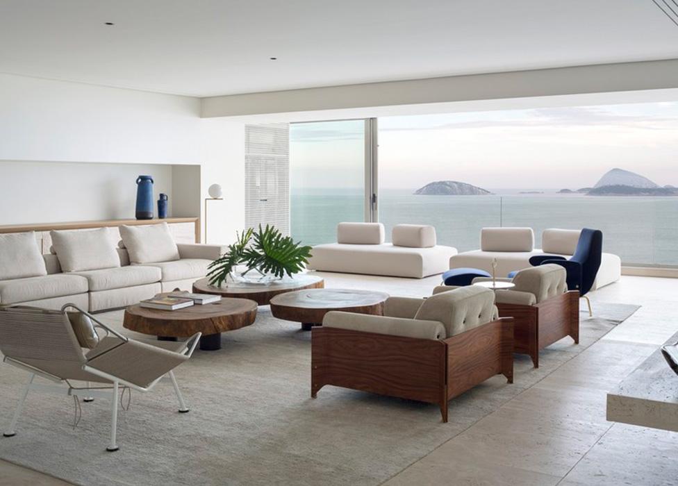 Интерьер дома в солнечном Рио-де-Жанейро
