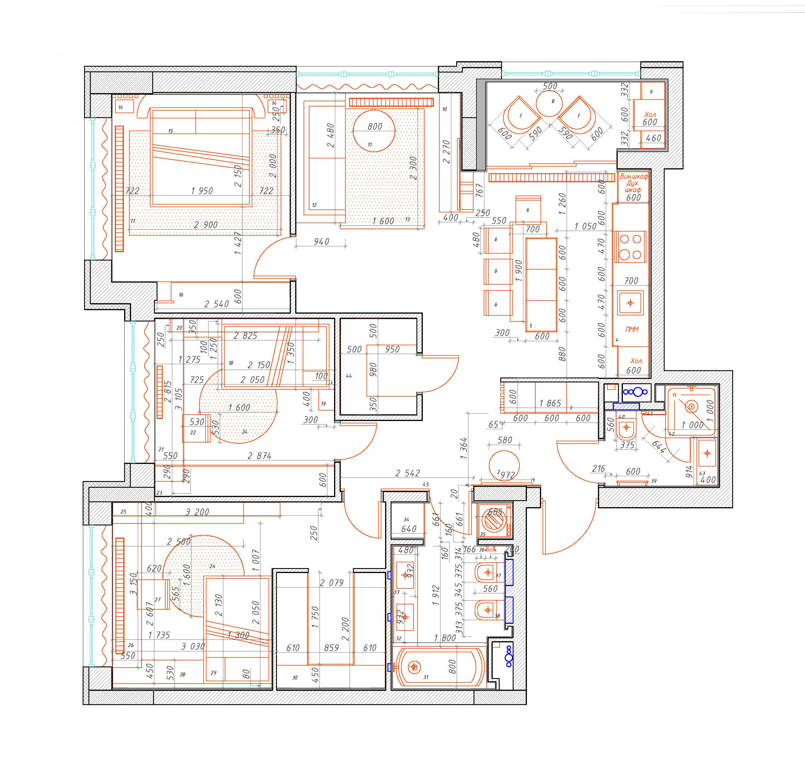 Основные ошибки при планировке квартир и домов