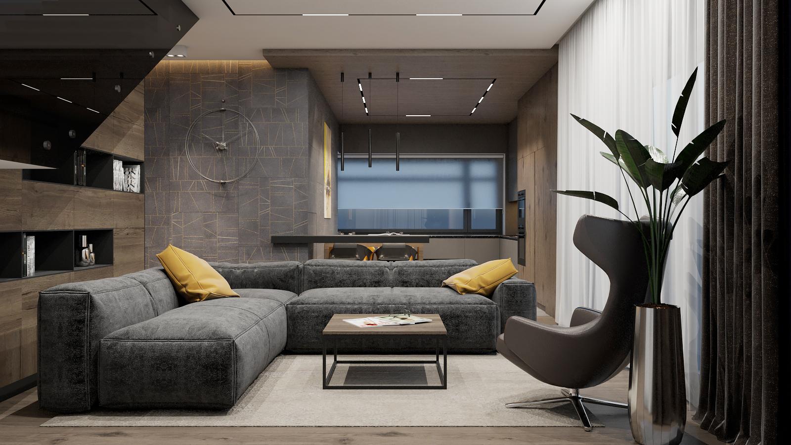 Современный стиль в доме