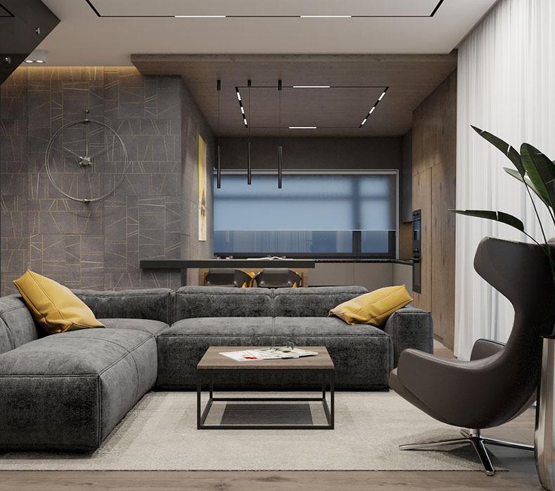 Дизайн интерьера дома 250 кв. м.