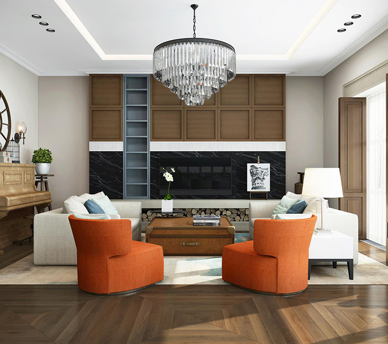 Дизайн интерьера дома 430 кв. м.